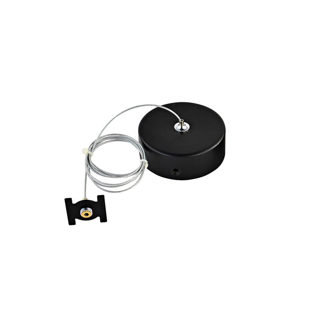 Купить Кронштейн-подвес для шинопровода Donolux Suspension kit DLM/Black