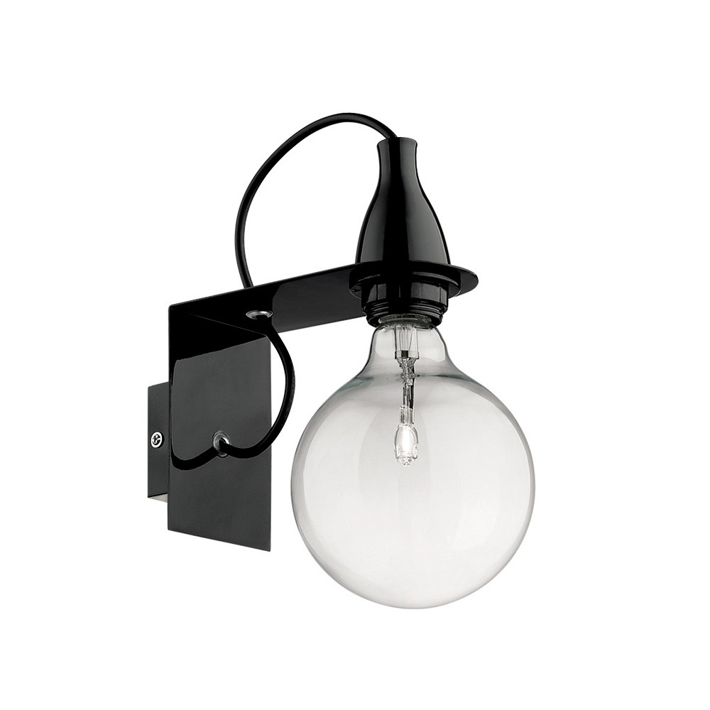 Купить Бра Ideal Lux Minimal AP1 NERO