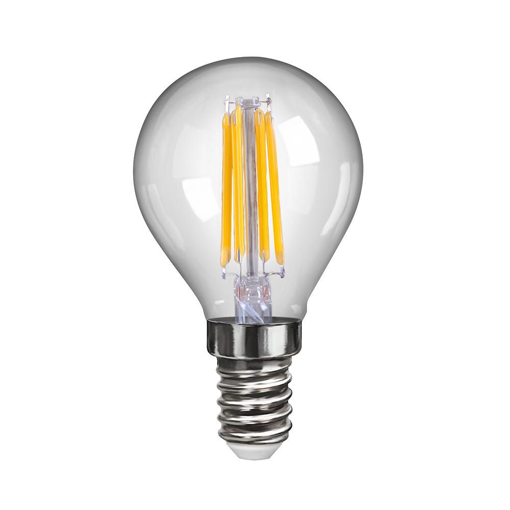 Купить Светодиодная лампа шар Voltega 220V E14 6W (соответствует 60 Вт) 600Lm 4000K (белый) 7022