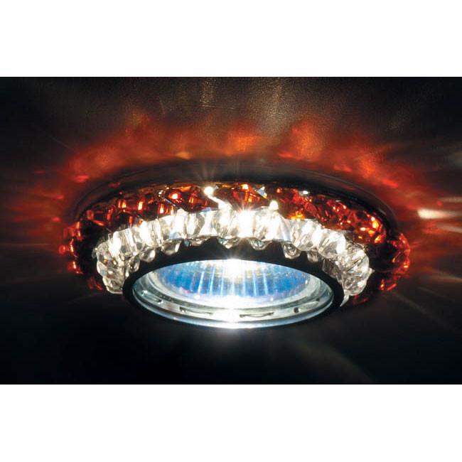 Точечный светильник Donolux Donolux DL062.02.1/7 crystal/topaz от svetilnik-online