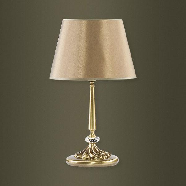 Настольная лампа Kutek Kutek San Marino Swarovski Shades SAN-LG-1(P/A)SW от svetilnik-online