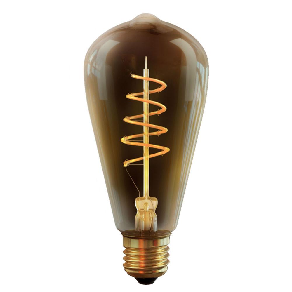 Купить Диммируемая светодиодная лампа колба Voltega E27 4W (соответствует 60W) 300Lm 2000К (желтый) 7077