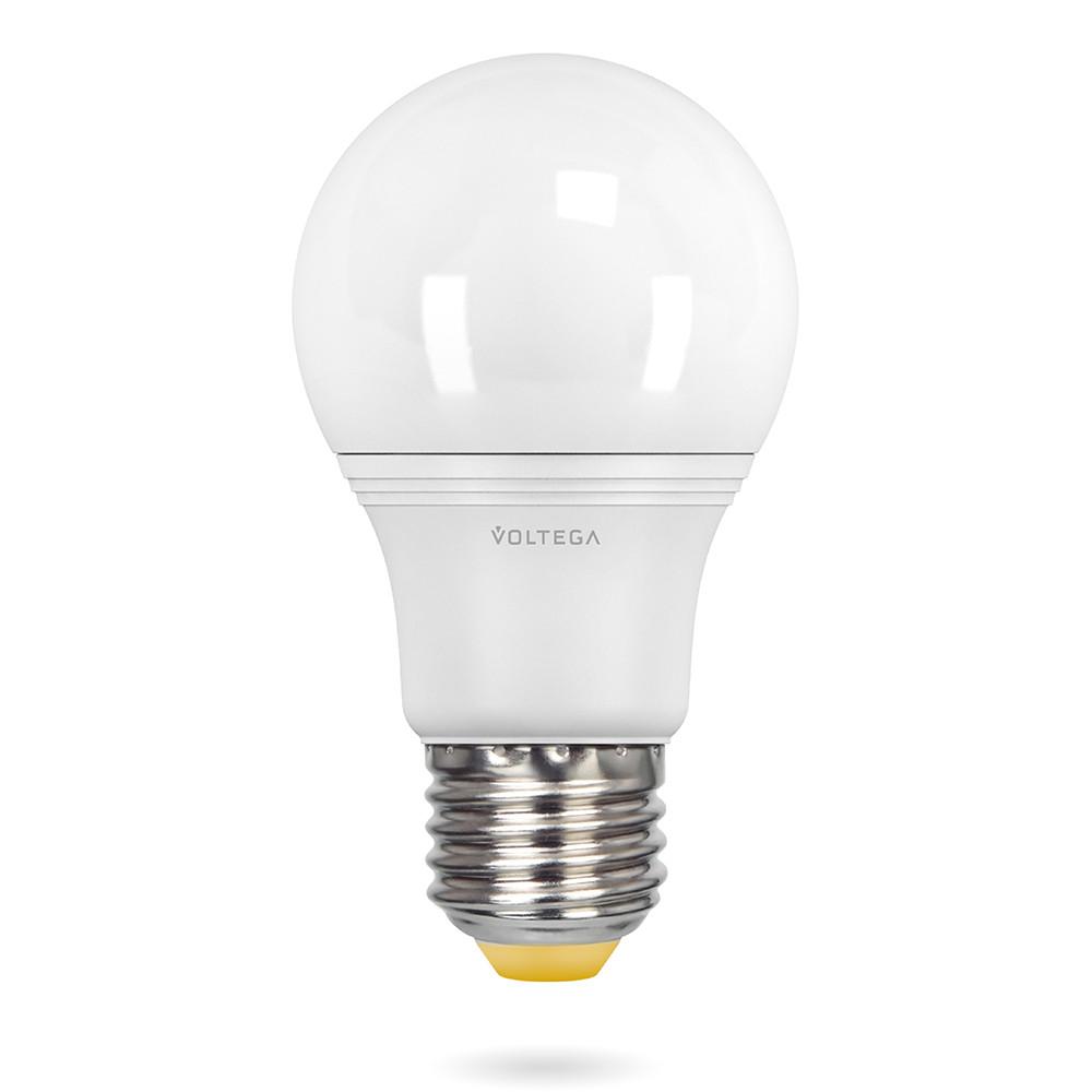 Купить Cветодиодная лампа Voltega 220V E27 9W (соответствует 75 Вт) 780Lm 2800K (теплый белый) 8343