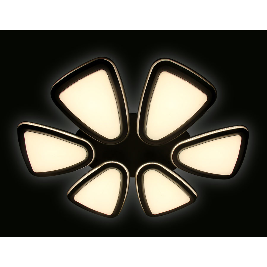 Купить Светильник потолочный Ambrella Orbital Granule FG1014/6 WH/SL 410W D1040*800