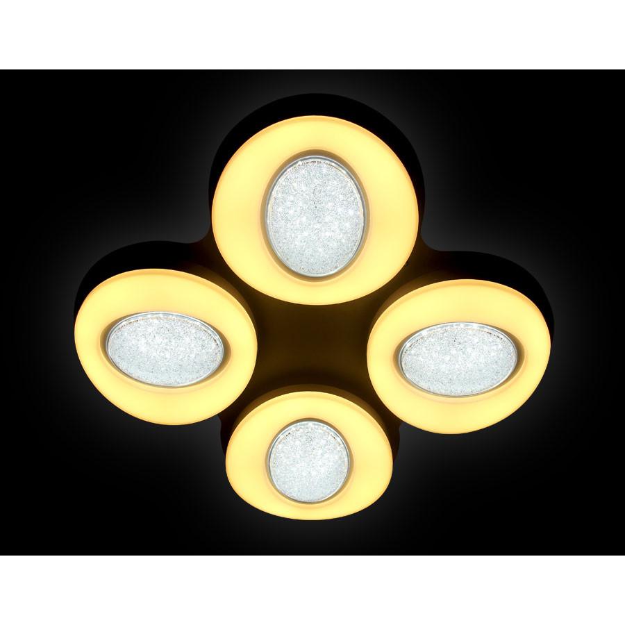 Люстра Ambrella Ambrella Orbital Crystal Sand FS1584/4 208W D585*585 от svetilnik-online