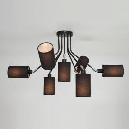 Светильник потолочный Eurosvet Duetto 70072/7 Black