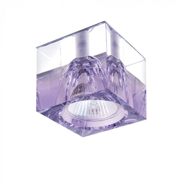 Светильник точечный Lightstar meta Qube Cr-Violet 004149