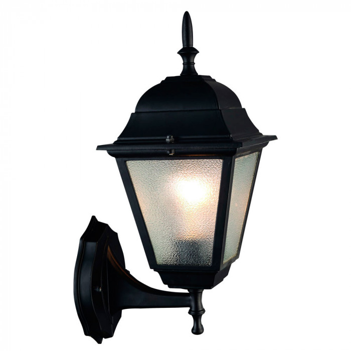 Уличный настенный светильник Arte Bremen A1011AL-1BK