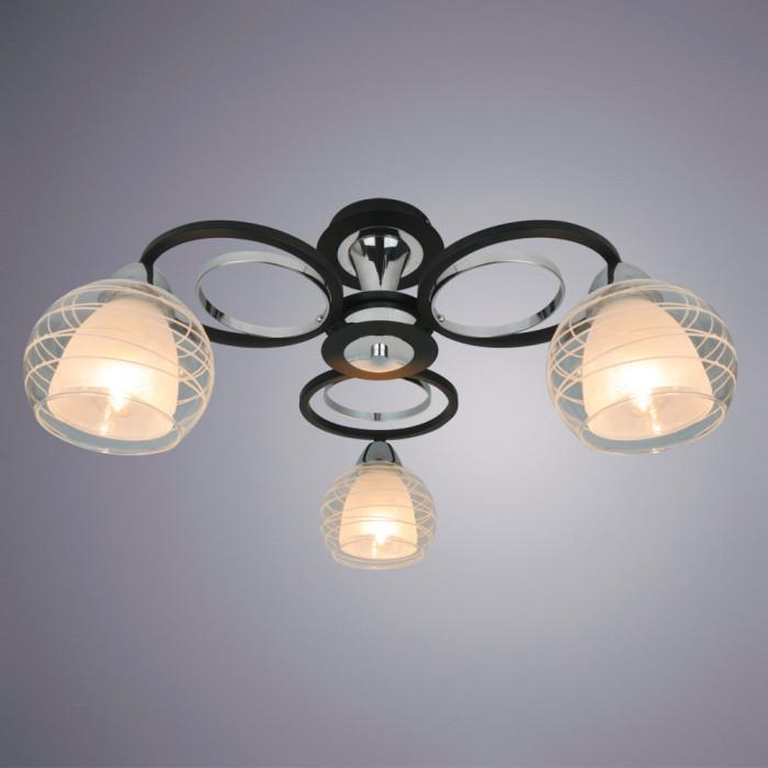 Светильник потолочный Arte Ginevra A1604PL-3BK