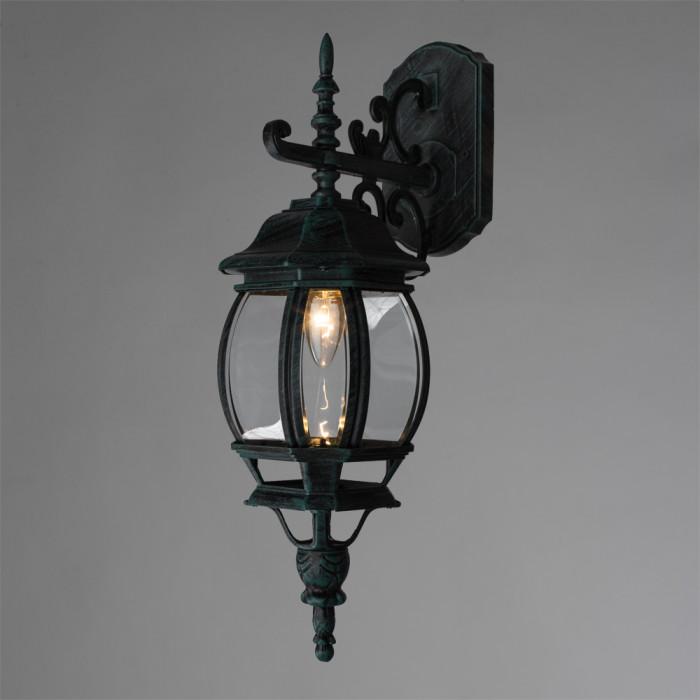 Уличный настенный светильник Arte Atlanta A1042AL-1BG