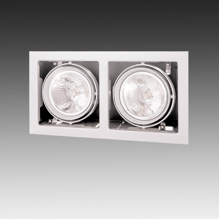 Светильник точечный Lightstar Cardano 111 x2 Bianco 214120
