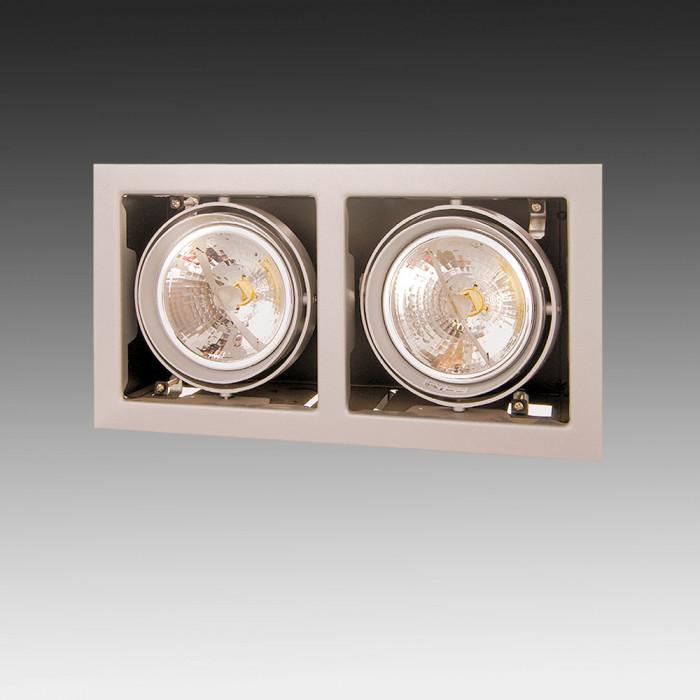Светильник точечный Lightstar Cardano 111 x2  214127