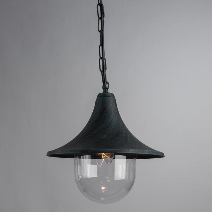 Уличный потолочный светильник Arte Malaga A1085SO-1BG