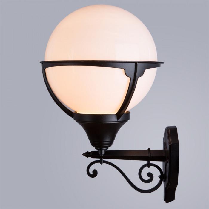 Уличный настенный светильник Arte Monaco A1491AL-1BK