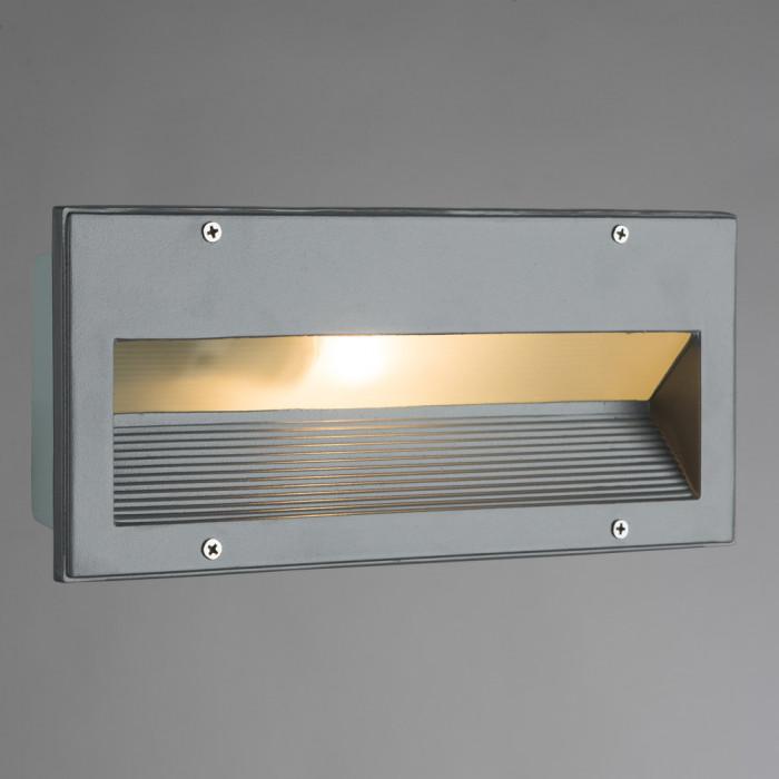 Уличный настенный светильник Arte Install A5158IN-1GY