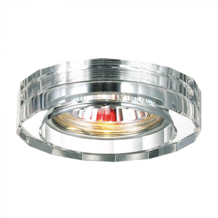 Светильник точечный Novotech Glass 369487