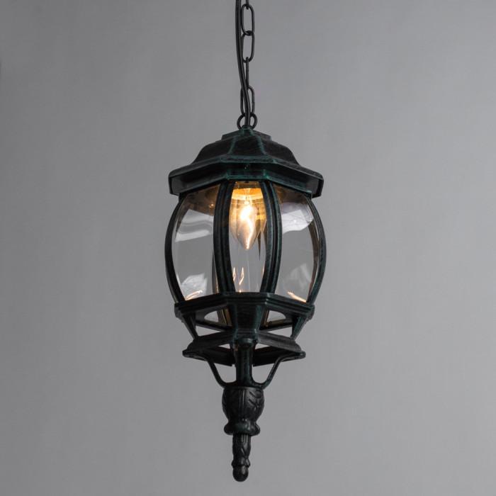 Уличный потолочный светильник Arte Atlanta A1045SO-1BG