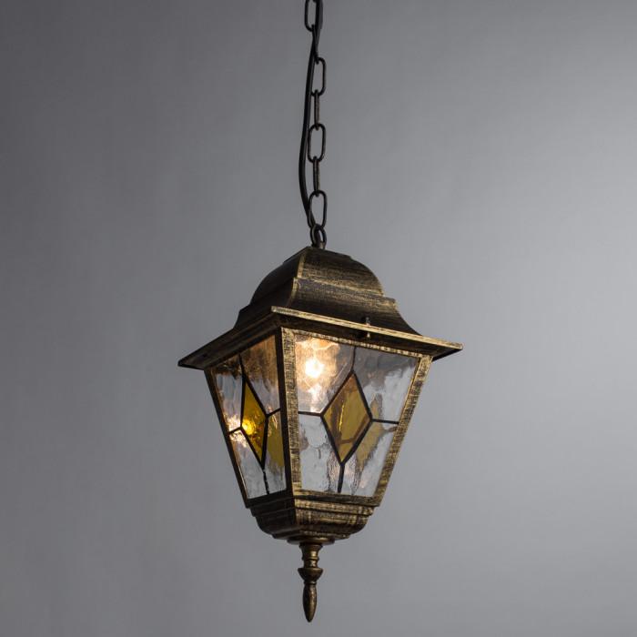 Уличный потолочный светильник Arte Berlin A1015SO-1BN