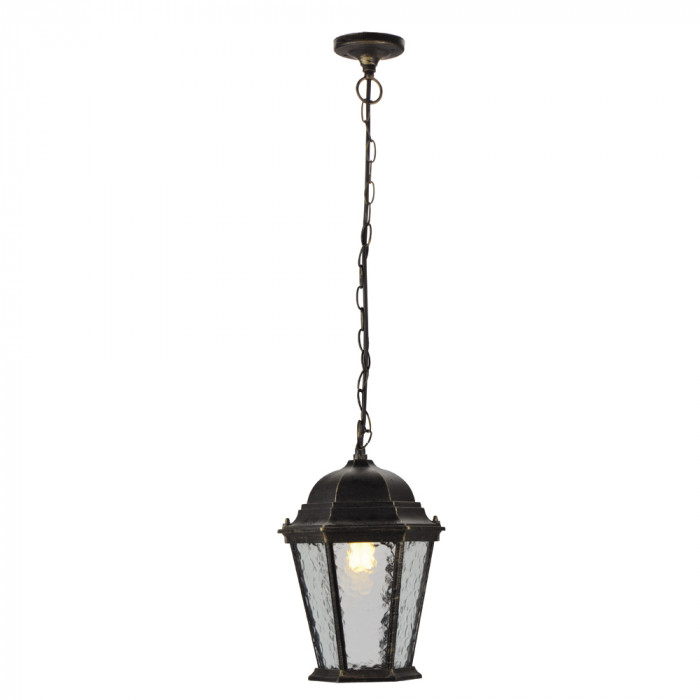 Уличный подвесной светильник Arte Genova A1205SO-1BN