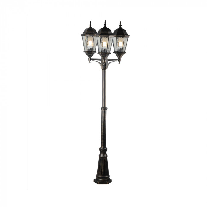 Уличный фонарь Arte Genova A1207PA-3BN