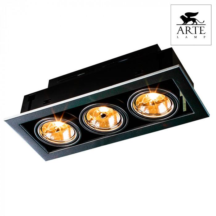Светильник точечный Arte Technika A5930PL-3SI