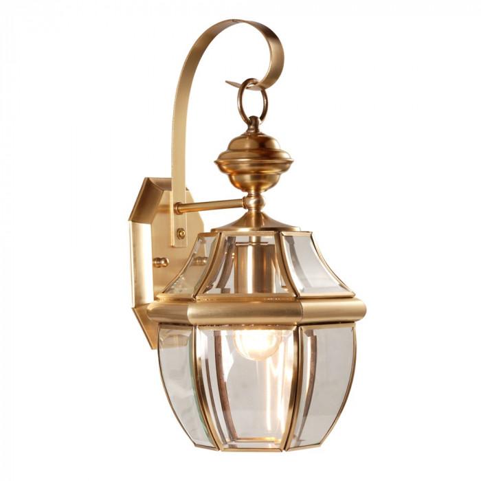Уличный настенный светильник Arte Vitrage A7823AL-1AB