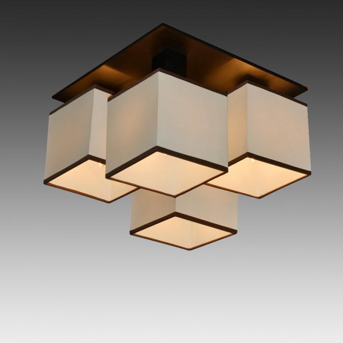 Светильник потолочный Arte Quadro A4402PL-4BK
