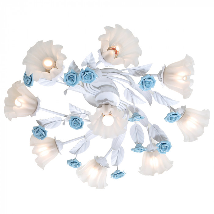 Светильник потолочный Lucia Tucci Fiori di rose 112.8.1