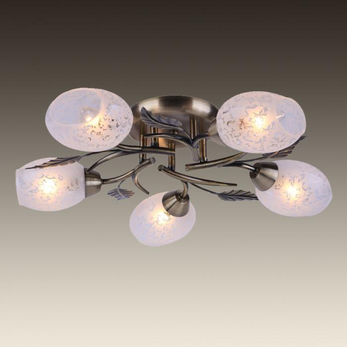 Светильник потолочный Arte Anetta A6157PL-5AB