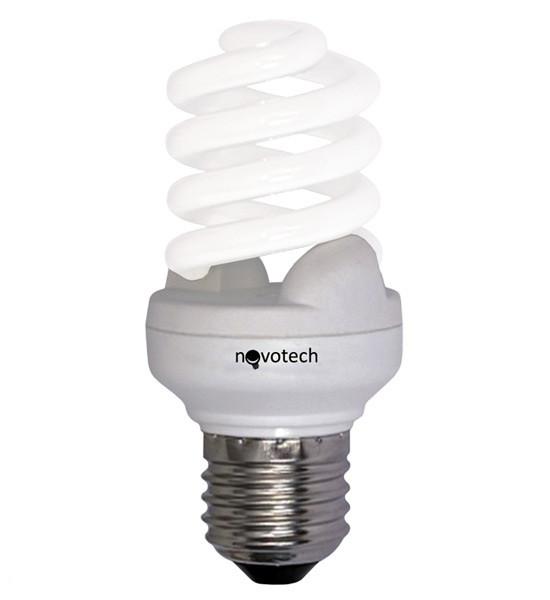 Энергосберегающая лампа Novotech 23Вт(соответствует 115Вт)  E27  2700К(теплый белый)  321020