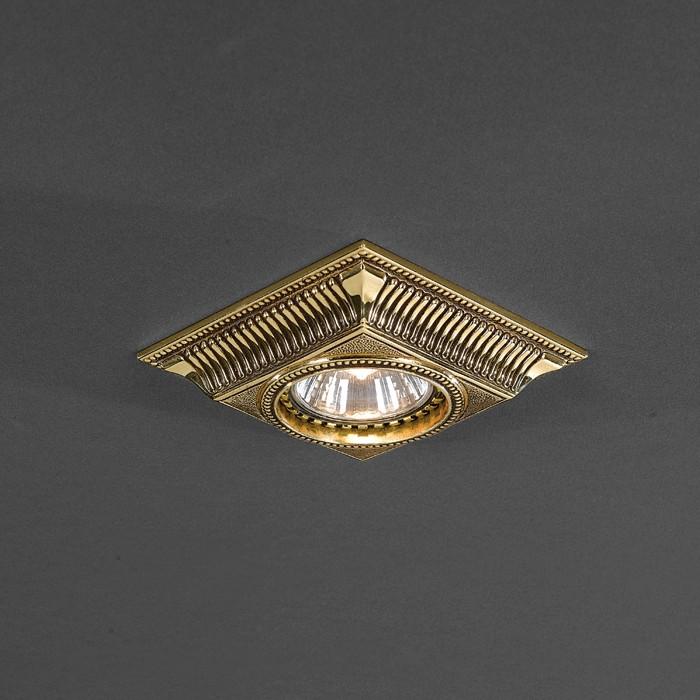 Светильник точечный Reccagni Angelo SPOT 1084 ORO