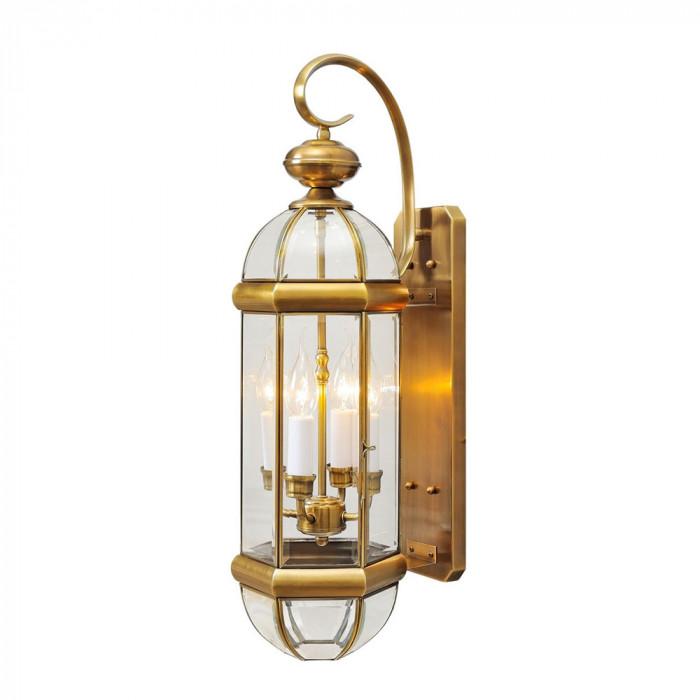 Уличный настенный светильник MW-Light Мидос 802020504