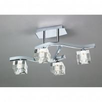 Светильник потолочный Mantra Cuadrax Cromo Optico 0967