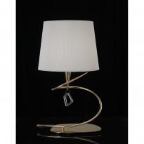 Лампа настольная Mantra Mara Cuero- Pant. Blanca 1630