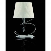 Лампа настольная Mantra Mara Cromo Pant - Blanca 1650