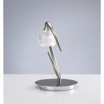 Лампа настольная Mantra Loop Niquel Satinado 1817