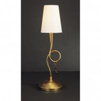Лампа настольная Mantra Paola Pan Oro 3545