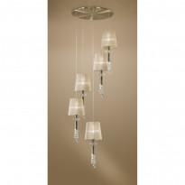 Светильник (Люстра) Mantra Tiffany Cuero 3877