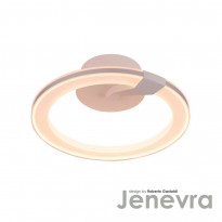Светильник настенно-потолочный IDLamp Jenevra 397/40-LEDWhitechrome