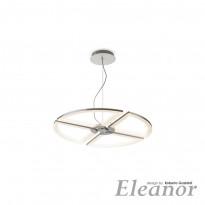 Светильник (Люстра) IDLamp Eleanor 398/80-LEDWhitechrome