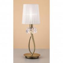 Лампа настольная Mantra Loewe Antique Brass 4737