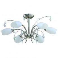 Светильник потолочный IDLamp Rosanna 805/6PF-Whitechrome
