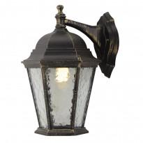 Уличный настенный светильник Arte Genova A1202AL-1BN