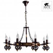 Светильник (Люстра) Arte Cartwheel A4550LM-8CK