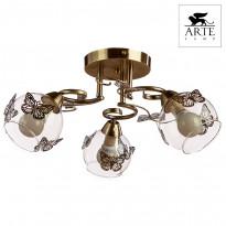 Светильник потолочный Arte Alessandra A5004PL-3AB