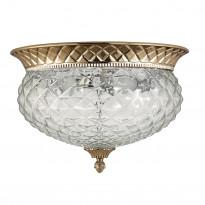 Светильник потолочный Crystal Lux HOLA PL4 GOLD