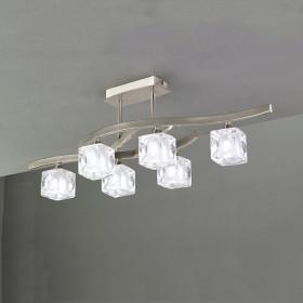 Светильник потолочный Mantra Cuadrax Sn 0004023