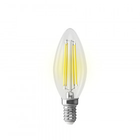 Светодиодная лампа графеновая свеча Voltega 220V E14 6.5W (соответствует 90 Вт) 840Lm 2800K (теплый белый) 7134