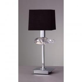 Лампа настольная Mantra Akira Pantalla Negra 0789