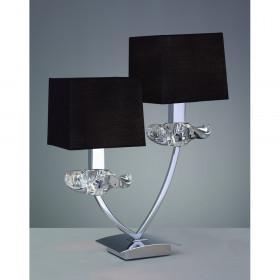 Лампа настольная Mantra Akira Pantalla Negra 0790